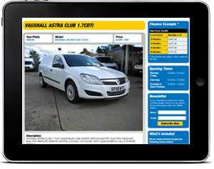 Car Sales Website Design